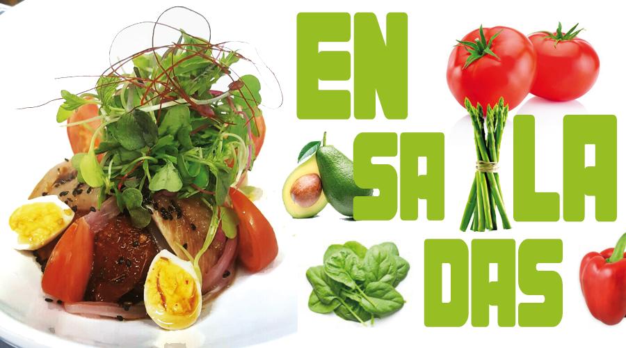ENDALADAS… verde y mas verde…