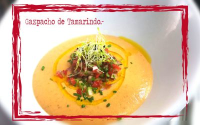 Gazpacho de tamarindo